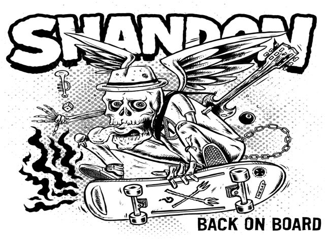 Shandon 'Skate Ska' new video feat. Vic Ruggiero (Slackers)