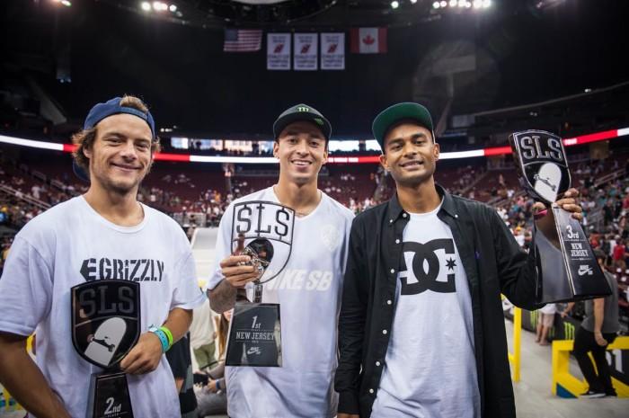Nyjah Huston Takes 1st Place at SLS Nike SB World Tour New Jersey