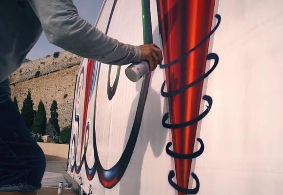 TRUCK ART PROJECT' IN IBIZA
