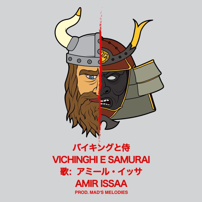 'Vichinghi E Samurai', il nuovo video di Amir Issaa, girato a Osaka