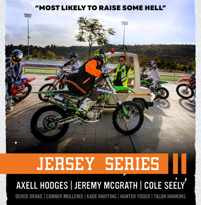 Watch the Spy Jersey Series video now!