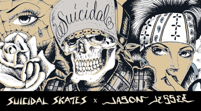 SUICIDAL SKATES X JASON JESSEE LIMITED GUEST COLLECTION