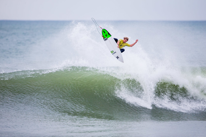 Monster Energy's John John Florence wins his first World Surf League world title