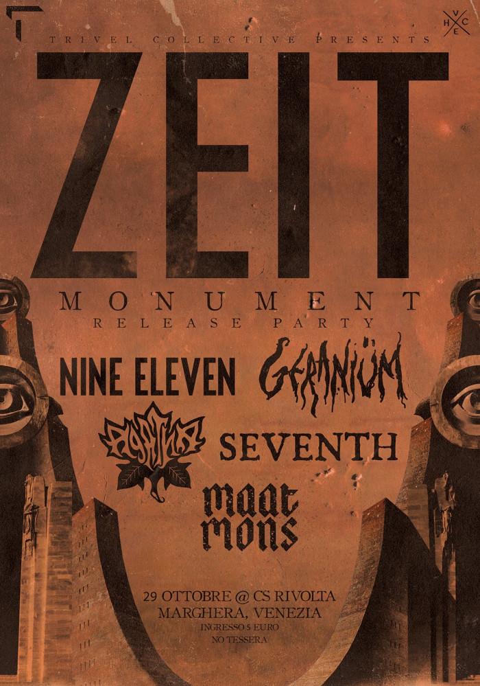 Zeit presentano il nuovo EP a Marghera con ospiti speciali
