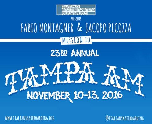 L'ultima trasferta del 2016? Italiani a Tampa AM!