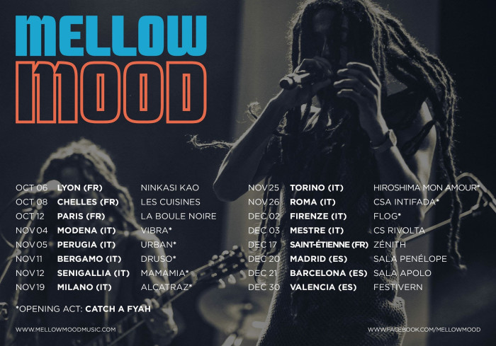 Mellow Mood – Autunno Club Tour 2016 / New Video