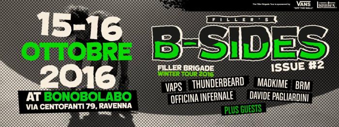 Filler Brigade @ Bonobolabo / Ravenna