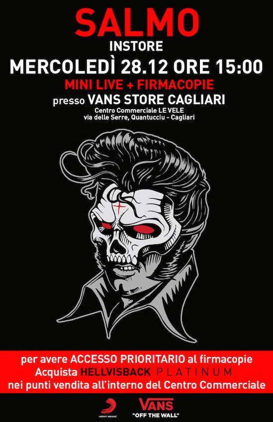 Salmo ospite al Vans Store di Cagliari – 28 dicembre, ore 15