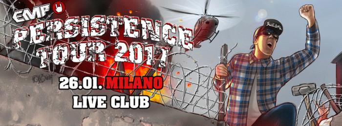 EMP PERSISTENCE TOUR LA TAPPA ITALIANA E' SEMPRE PIU' VICINA!