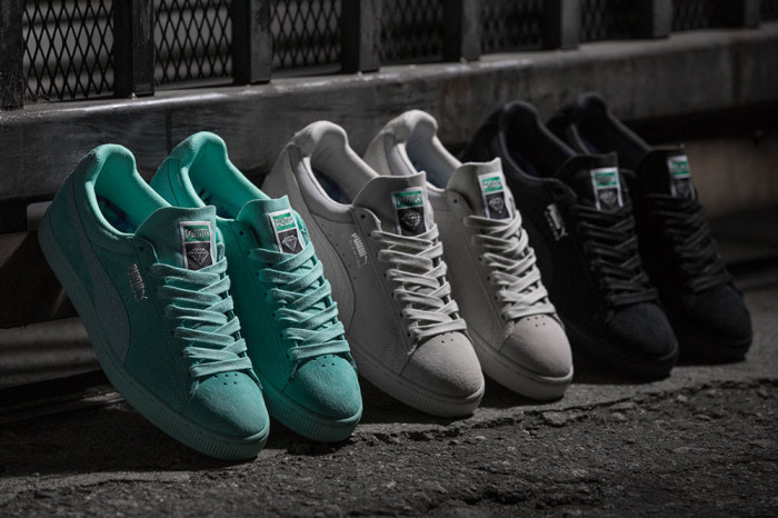 0f5b1da9990 Releasing 12 10  Diamond Supply Co. x Puma Suede