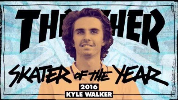 Thrasher Skater Of The Year 2016: Kyle Walker