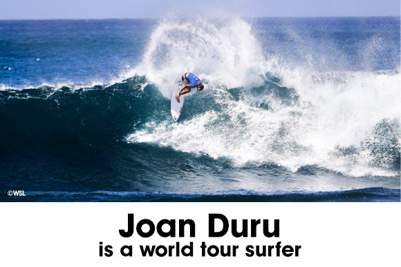 No more WQS warrior, Joan Duru is officially a World Tour Surfer in 2017
