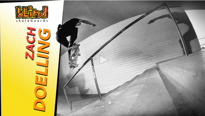 Full Part from Zach Doelling on The Skateboard Mag