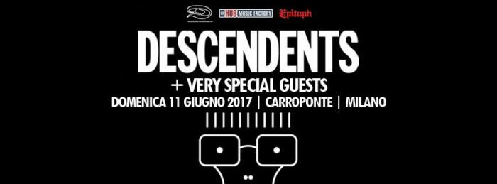 Il ritorno dei Descendents: giugno 2017 unica data italiana!