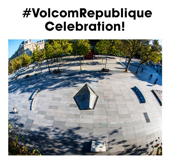 Volcom comes back in the heart of the French capital