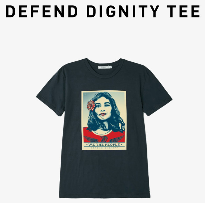 Obey x Defend Dignity