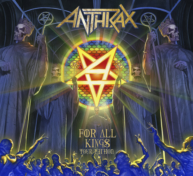 Anthrax – tour edition of 'For All Kings'; lyric video for 'Suzerain'!