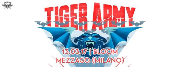 13 Marzo – Tiger Army, EvilDevil, Andead live at Bloom, Mezzago (MI)