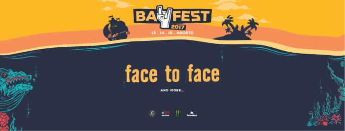 Bay Fest 2017: Lunedì 14 agosto Face To Face assieme ai già annunciati Bad Religion e Pennywise