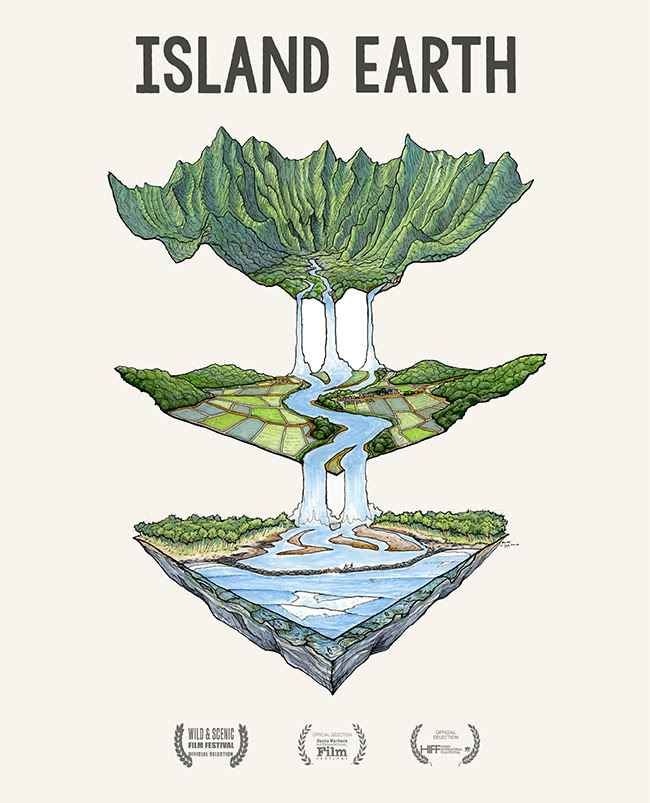'ISLAND EARTH' // NEW FILM FROM CYRUS SUTTON