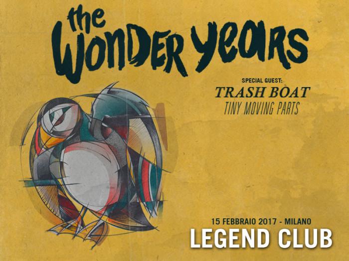 The Wonder Years: unica data italiana domani sera al Legend Club di Milano!