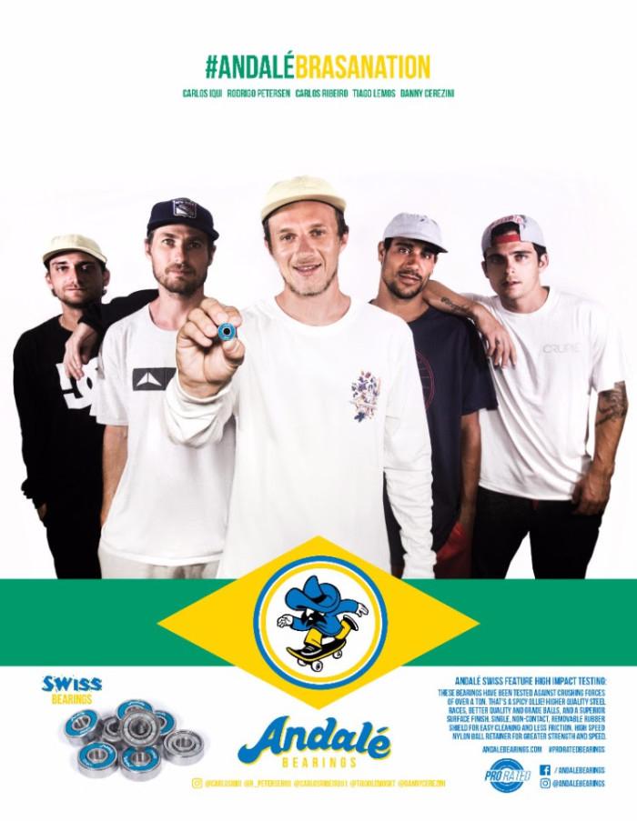 Andalé Brasil crew edit #AndaleBrasaNation