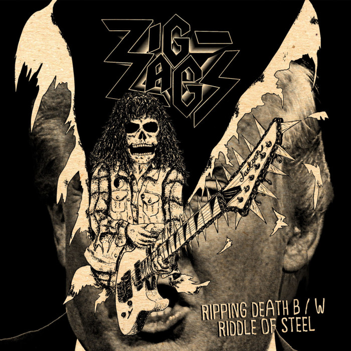 Zig Zags 'Ripping Death/Riddle Of Steel'