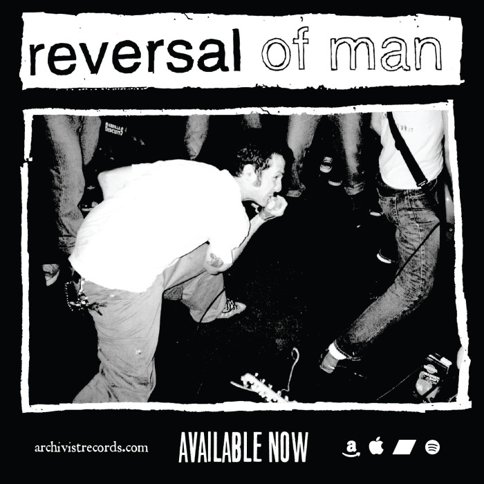 Florida '90s hardcore innovators Reversal Of Man to reissue entire catalog digitally via Archivist Records
