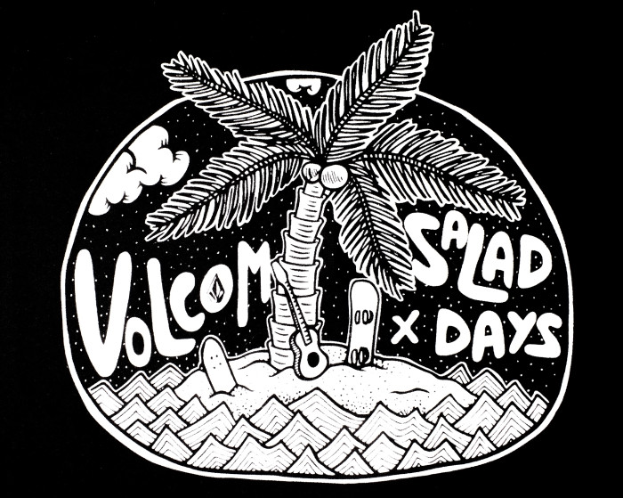 Volcom x Salad Days Magazine Limited Edition Tee