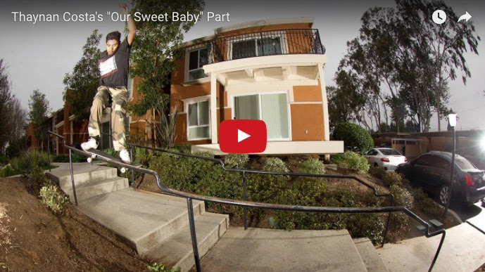 """Thaynan Costa """"our sweet baby"""" video part"""