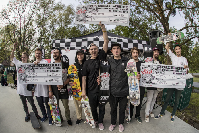 Vans Shop Riot Series 2017 – Czech Rep qualifying results