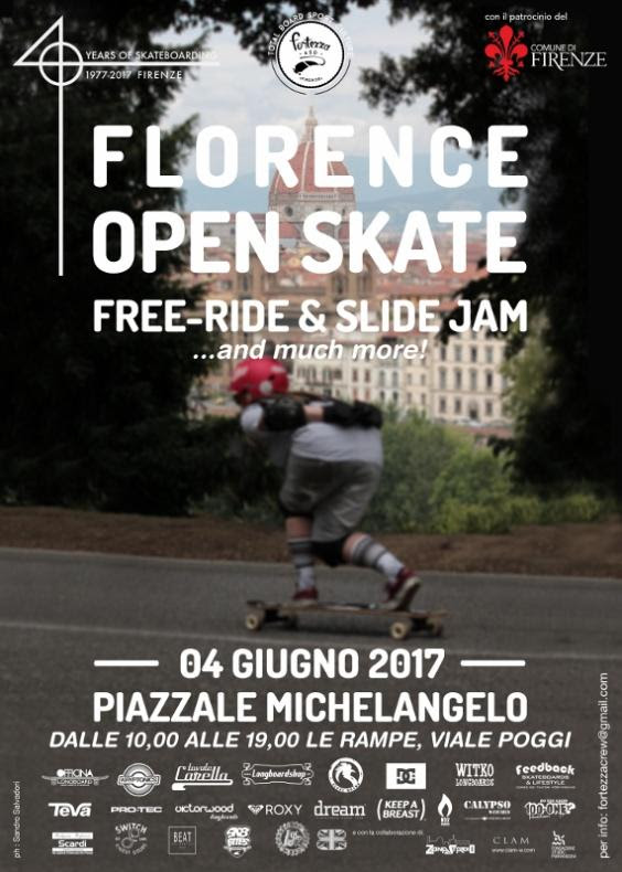 DC e Roxy partner del Florence Open Skate