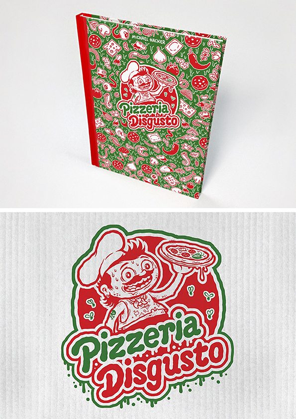 Pizzeria Disgusto – new cartoon book about the weird side of Italian cuisine