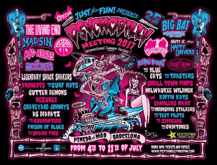 PSYCHOBILLY MEETING / PINEDA DEL MAR 4-11 JULY