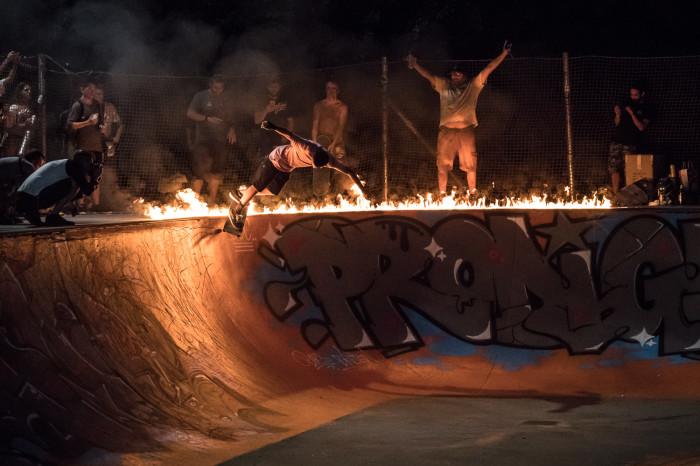 Red Bull Skate Week al Parco Lambro  per il restyling della bowl