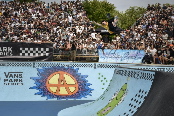 Pedro Barros claims 1st place in Canada on the 2017 Vans Park Series Men's Pro Tour