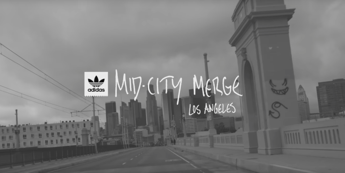 'Mid-City Merge' /// adidas Skateboarding in Los Angeles
