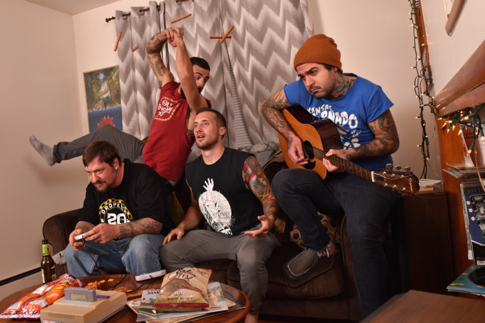 Skatepunk band Ate Bit new video 'Back To The Loser'