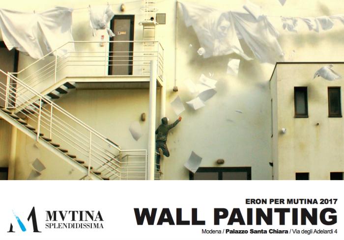 Eron. Un wall painting per Mutina 2017 | Palazzo Santa Chiara, Modena