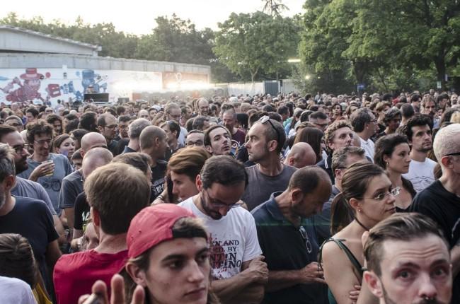 PJ Harvey performs on Todays festival