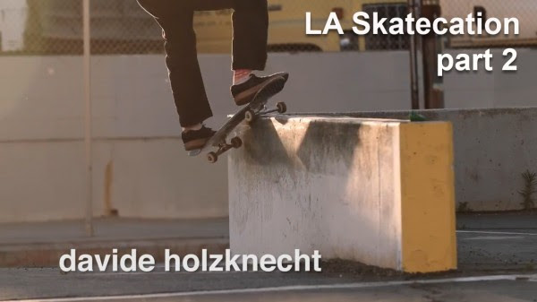 Davide Holzknecht in 'LA Skatecation' Part 2