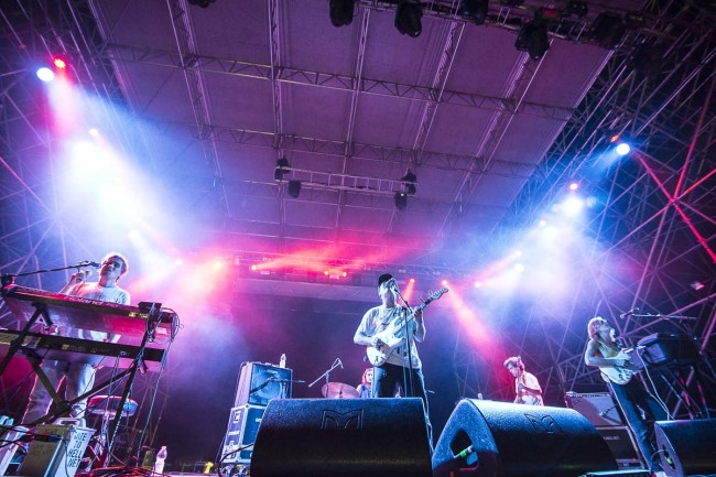 Mac DeMarcoperforms on Todays festival