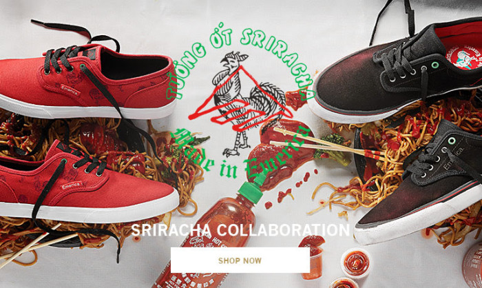 Emerica X Sriracha Collaboration