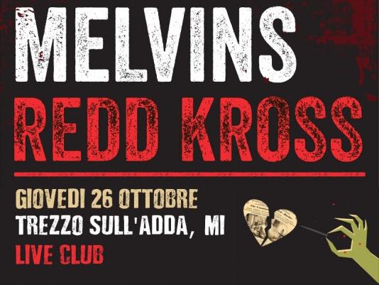 Melvins e Redd Kross: meno un mese all'unica data italiana