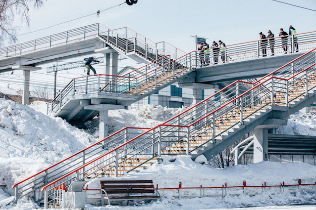 Vans presenta 'First Layer Russia': un'avventura dello European Snow Team