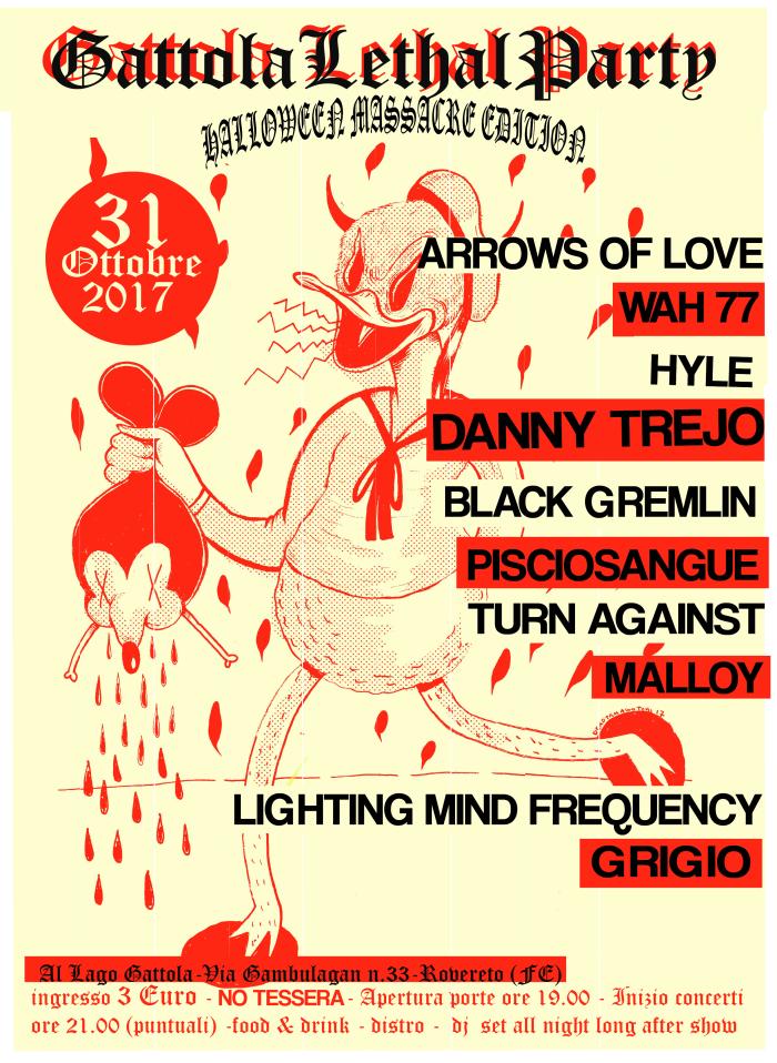 Gattola Lethal Party – 31 Ottobre 2017-