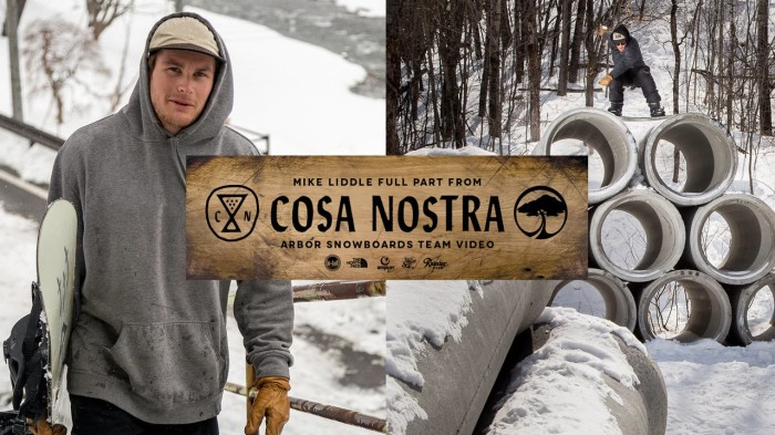 Arbor Snowboards: Frank April's full part from 'Cosa Nostra'