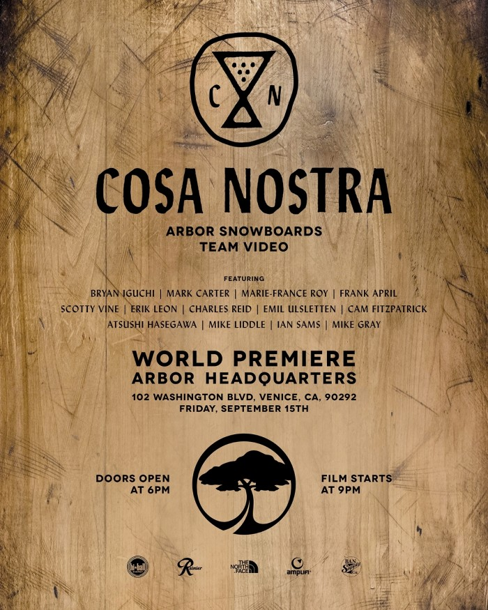 Arbor Snowboards: Marie-France Roy's full part from 'Cosa Nostra'