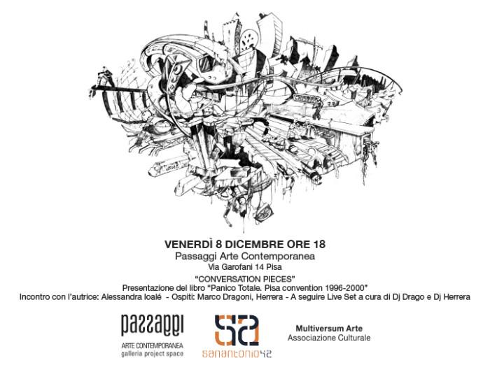 Presentazione del libro 'Panico Totale' di Alessandra Ioalé alla Galleria Passaggi di Pisa | Ven. 8 Dic.