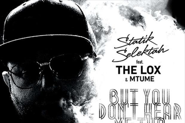 Statik Selektah 'But You Don't Hear Me Tho' feat. The LOX & Mtume (Official Music Video)